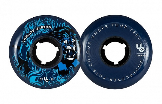 Undercover Carlos Bernal Circus 2nd Ed. 58mm/90a 4 шт.