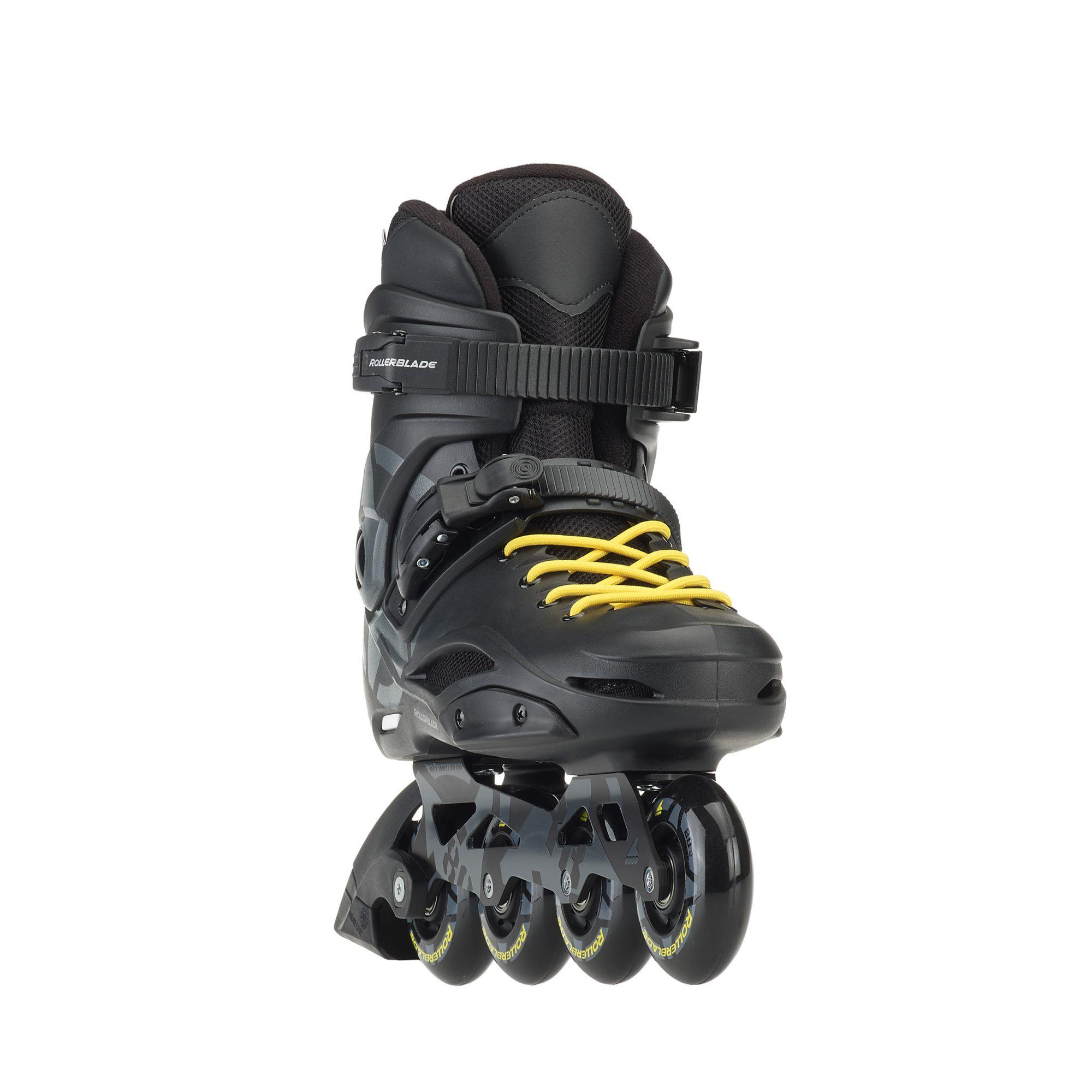 9731129ae62be4 Rollerblade RB 80 - 2018 Black/Yellow, купить в Москве