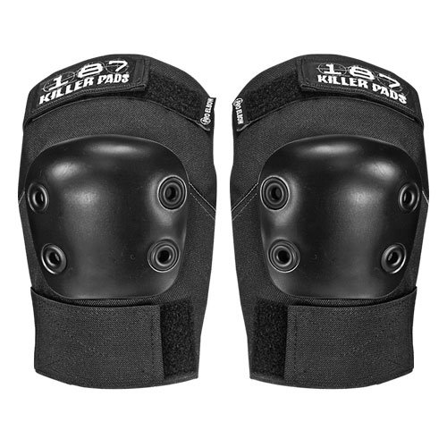 187 Killer Pads Pro Elbow Black