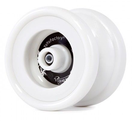 Yoyo Factory Grind Machine White