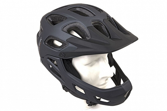Author Creek Fullface HST Matte Black