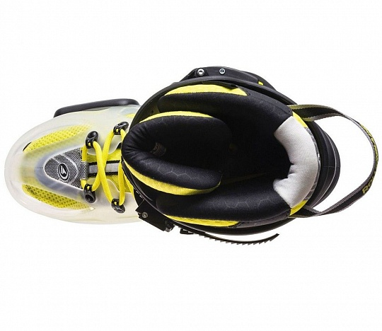 Rollerblade Twister X - 2017 Translucent/Flour Yellow