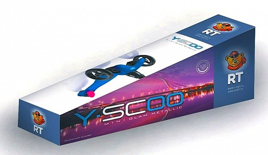 Y-scoo Mini Glam Metallic Light Blue