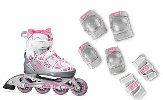 Fila X-one Girl Combo 2-set - White/Pink