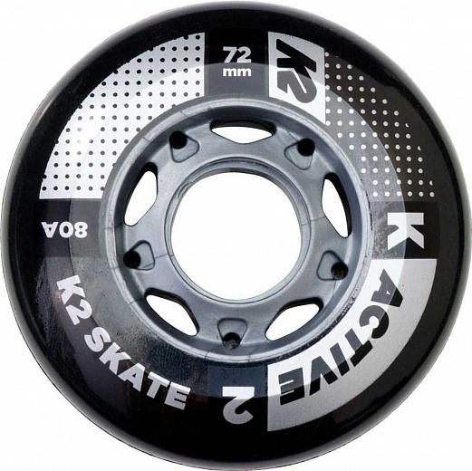 K2 Active Wheel 4-Pack 72/80A - 2017