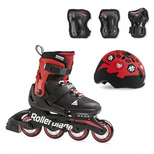 Rollerblade Microblade Cube - 2019 Black/Red