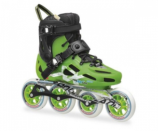 Rollerblade Maxxum 100 - 2015 Black/Acid Green
