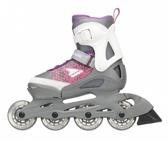Rollerblade Cube G - 2018 White/Purple