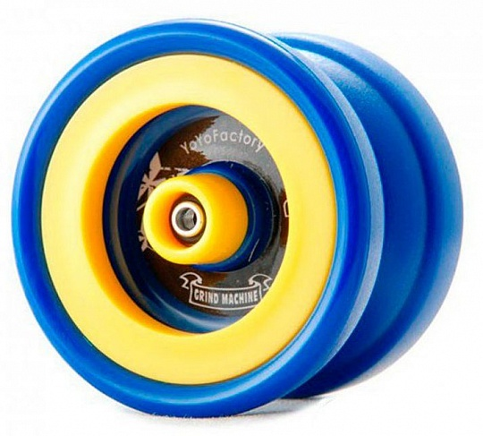 Yoyo Factory Grind Machine Blue/Yellow