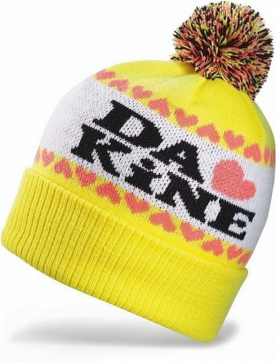 Dakine Lovely Beanie Yellow
