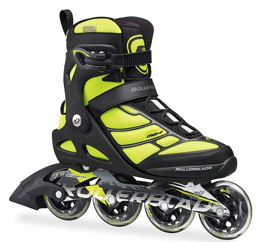 Rollerblade Macroblade 84 - 2016 Yellow Fluo