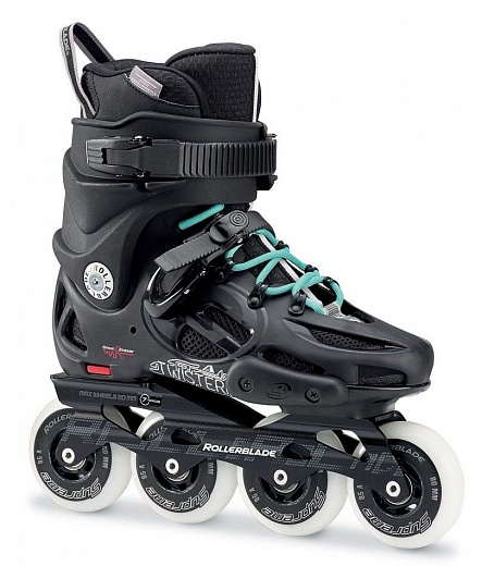 Rollerblade Twister 80 W - 2017 Black/Light Blue