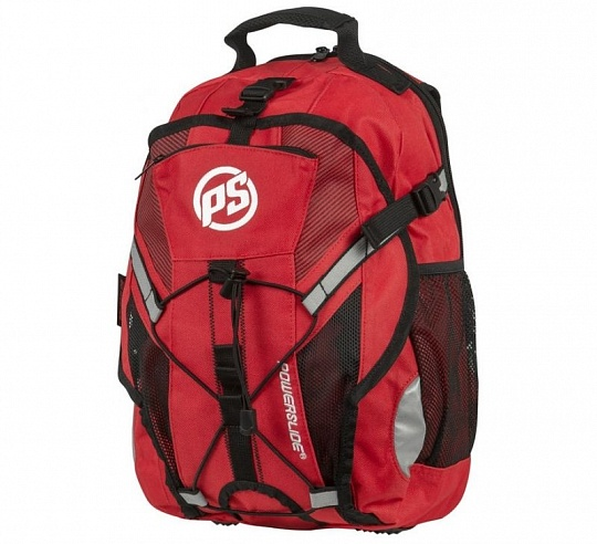 Powerslide Fitness Backpack Red 2017