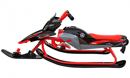 Yamaha Apex Snow Bike Titanium black/red