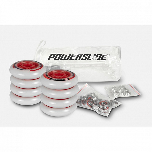 Powerslide ONE 80мм/82А + ABEC5 + Alu Spacer 8mm