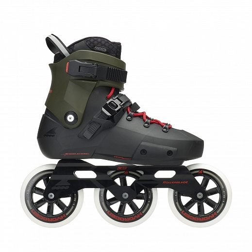 Rollerblade Twister Edge 3WD - 2019 Black/Army Green
